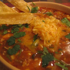 Chicken Tortilla Soup With