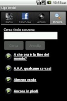 Screenshot of Liga Droid