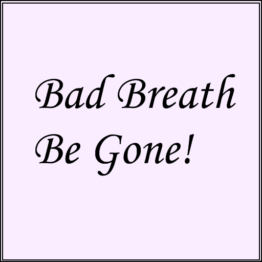 Bad Breath Be Gone! 書籍 App LOGO-硬是要APP