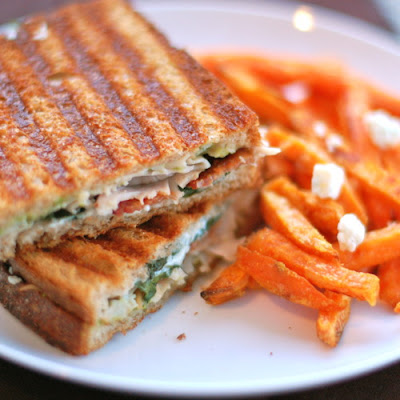 Gorgonzola and Bacon Panini