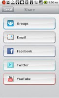 Screenshot of FlipShare™