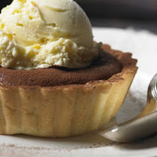 Warm Choc-orange Tarts With Orange Ice Cream