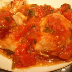 Zesty Ginger Tomato Chicken - Slow Cooker