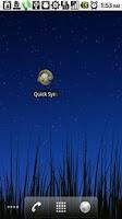 Screenshot of Quick Sync Settings
