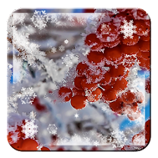 Happy Christmas Snowflake HD