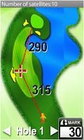 Screenshot of Sonocaddie Golf GPS