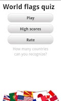 Screenshot of Logo Quiz - World Flags