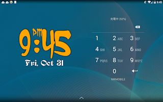 Screenshot of yco Clock