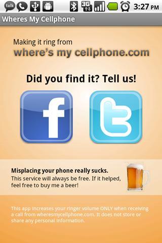 Where's My Cellphone