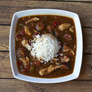 Gumbo With Chicken and Smoked Sausage