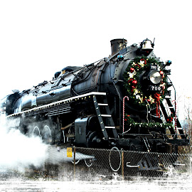 Holiday Express by Gary Winterholler - Transportation Trains (  )