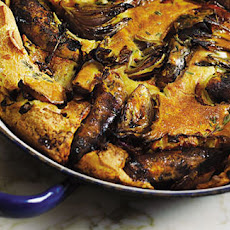 Toad-in-the-hole With Red Onions And Quick Gravy