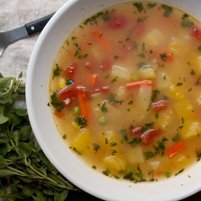 Really Good Vegetable Soup