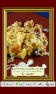 Easy Bread Dessert Recipes - screenshot
