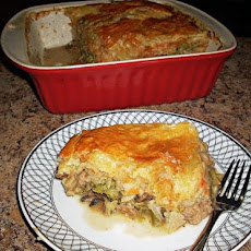 Shepherds Pie With Puff Pastry Crust