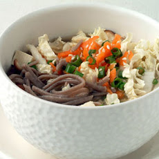 Soba Noodles with Miso Broth