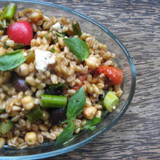 Farro with Kalamata Olives