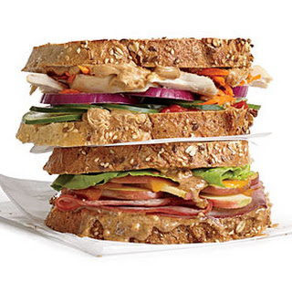 Thai Chicken Peanut Crunch Sandwich