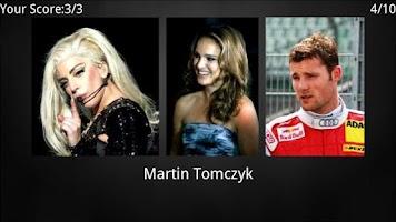 Screenshot of Who is this - Celebrities quiz