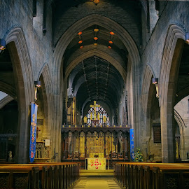 St Nicholas Cathedral by Phil Robson - Buildings & Architecture Places of Worship ( religion, st nicholas, cathedral, newcastle, north england )