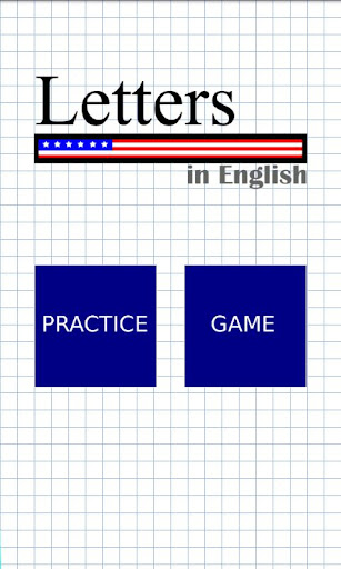 Letters in English
