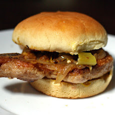 Bone-In Pork Chop Sandwich