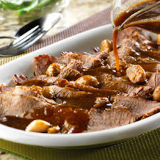 Braised Brisket with Garlic
