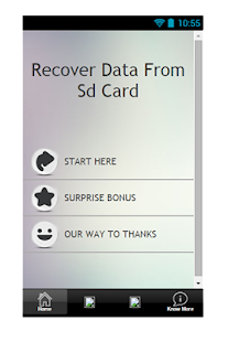 Recover Data From SD Card Tip - screenshot