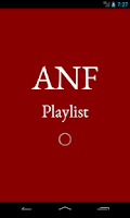 Screenshot of ANF Playlist