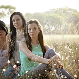 sisters by Linda Stander - People Family