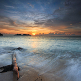 swept away by the waves by Yose Hendradi - Landscapes Sunsets & Sunrises