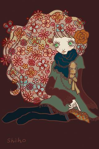 【免費個人化App】shiho -Girls illustration--APP點子