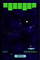 Screenshot of Paddle Ball Galaxy Free