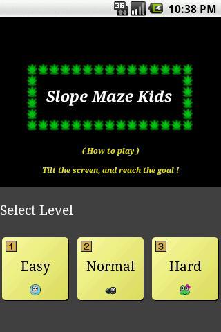 Slope Maze Kids