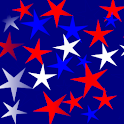 Panda Home Red White Blu Stars icon