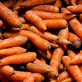 Carrots by Matt Connors - Food & Drink Fruits & Vegetables ( orange, market, food, vegetables, carrots )