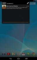 Screenshot of Pandora® internet radio