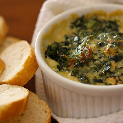 Warm Spinach Mascarpone Dip