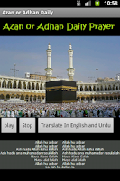 Screenshot of Azan or Adhan Daily prayer