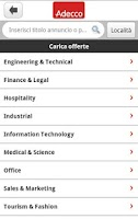 Screenshot of Adecco And Jobs  - Lavoro