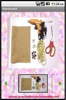 Screenshot of Handmade Accessories Tutorial