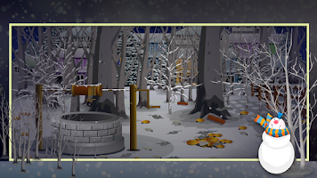 Screenshot of Winter Night Escape