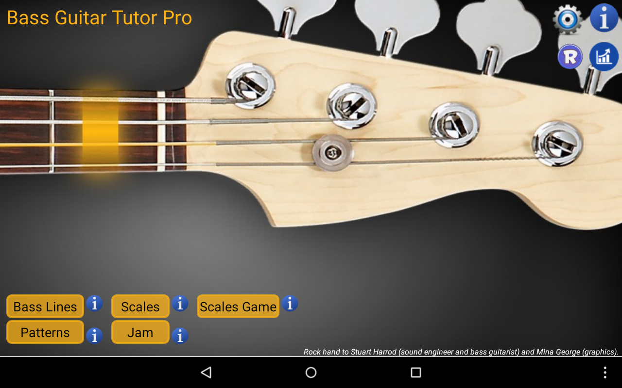 Bass Guitar Tutor Pro Screenshot 9