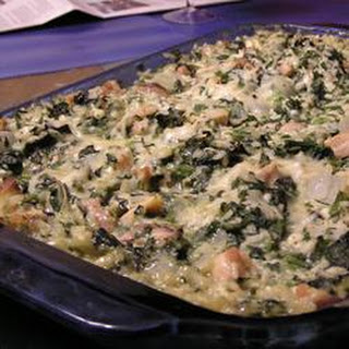 Chicken Florentine Rice Casserole