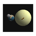 Earth, Moon & Sun icon