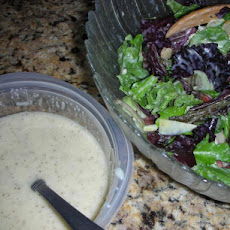Onion and Mustard Spinach Salad Dressing