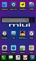 Screenshot of ADW.THEME MIUI Square