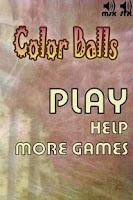 Screenshot of Color Balls