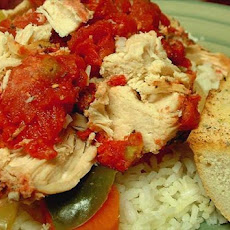 Crock Pot Chicken Italiano