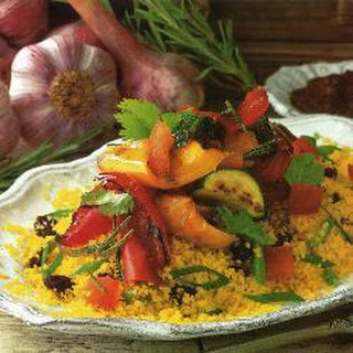 Saffron Couscous With Peppers